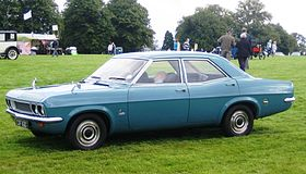 Vauxhall Victor FD license plate 1968 in Hertfordshire with lots of grass.jpg