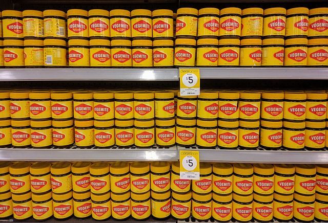 Vegemite on store shelves