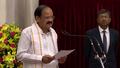 Venkaiah Naidu taking Oath at Rashtrapati Bhavan.png