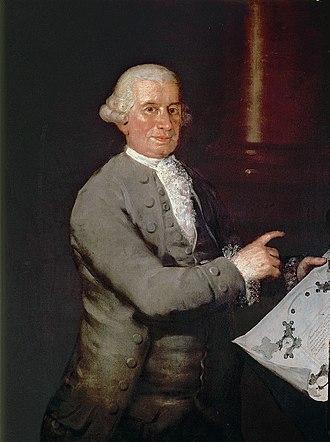 Ventura Rodríguez - Ventura Rodríguez, by Francisco Goya, 1786.
