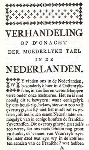Jan-Baptist Verlooy - Image: Verhandeling verlooy