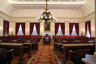 Vermont House of Representatives - Image: Vermont State House Representatives Hall