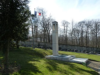 Cimetière des Gonards - Image: Versailles Gonards Monument Afrique du Nord 2