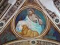 Via angelica, cappella di s. pietro martire, volta con evangelisti dell'inizio del xv sec. 02.JPG