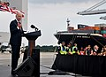 Vice President Joe Biden visits Port of Savannah (10019215334).jpg
