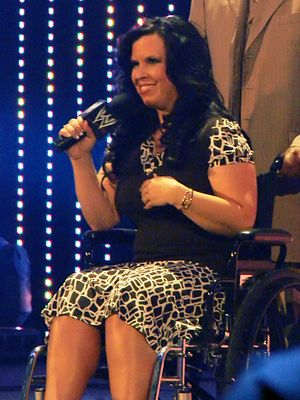 Vickie Guerrero - Guerrero spent much of her time in the La Familia storyline in a wheelchair.