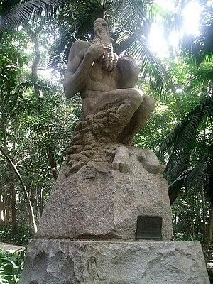 Português: Victor Brecheret - Fauno, no Parque...