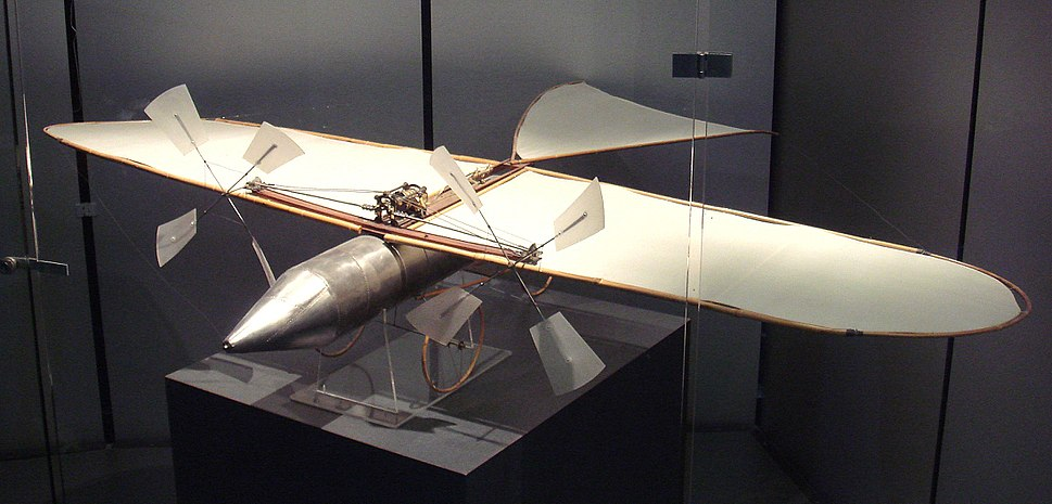 Victor Tatin aeroplane 1879