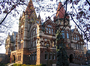 Victoria College in the University Toronto tak...
