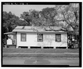 View of south side, facing north - 446-448 South Lee Avenue (House), 446-448 South Lee Avenue, Orlando, Orange County, FL HABS FL-546-2.tif