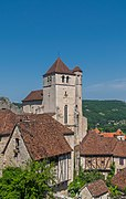 View of the church of Saint-Cirq-Lapopie 02.jpg