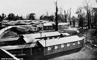 Harefield - The huts at Harefield Park, an Australian Military Hospital during World War I