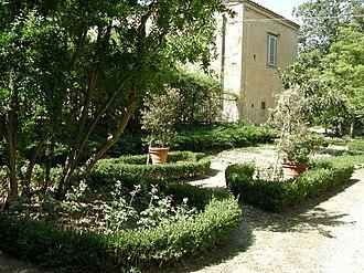 Villa Medici at Careggi - Garden.