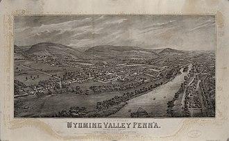 Wyoming, Pennsylvania - Village of Wyoming