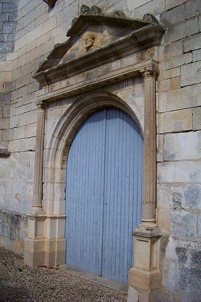 Église Saint-Martin de Vincelottes, portail ouest