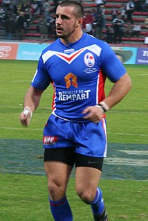 Vincent Duport French rugby league footballer