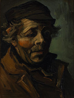 Vincent van Gogh - Head of a peasant - Google Art Project