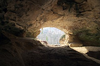 Cave and archaeological site in Croatia
