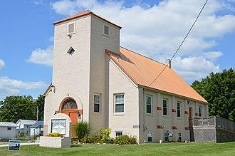 Fulton, Ohio - Former Methodist church