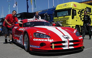 Group GT3 - A Dodge Viper Competition Coupe from the debut FIA GT3 European Championship
