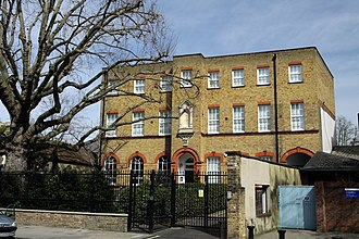 Brook Green - Pearlfisher's headquarters, The School House (formally Omnifone's head office and prior to that, Virgin's)