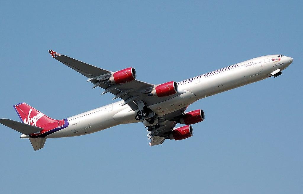 File:Virgin atlantic a340-600 g-vyou arp.jpg - Wikimedia Commons