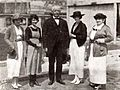 Virginia Brown Faire, Edith Roberts, William Dennison Stephens, Priscilla Dean, & Mary Preston Dean - May 1920 EH.jpg