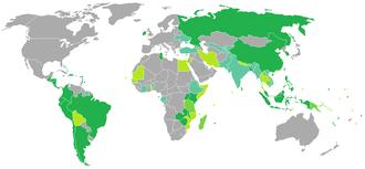 Fijian passport - Image: Visa requirements for Fijian citizens
