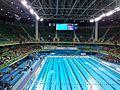 Vista da piscina e parte das Arquibancadas do Estádio Aquático.jpg