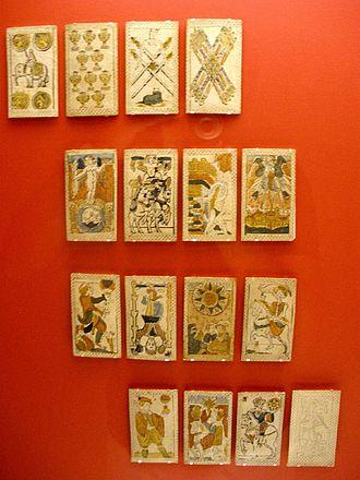Minchiate - Lucca version cards