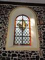 Vitrail de Saint Sylvestre dans l'église de Marbaix.JPG
