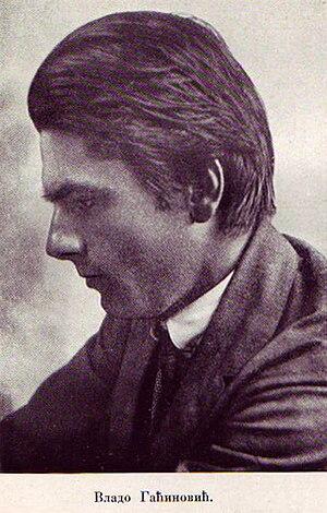 Vladimir Gaćinović - Image: Vladimir Gaćinović (1890–1917)