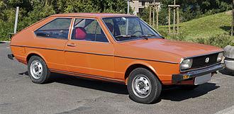 Volkswagen Passat (B1) - Image: Volkswagen Passat 1 front 20110921