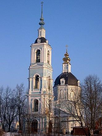 Dmitrov - The Vvedenskaya Church dates from the 1760s