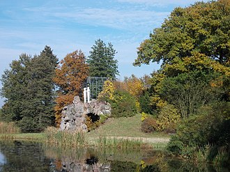 Dessau-Wörlitz Garden Realm - Amalia's Grotto in the gardens of Wörlitz