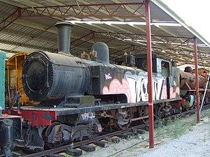 WAGR N class - N201 at the Western Australian Rail Transport Museum