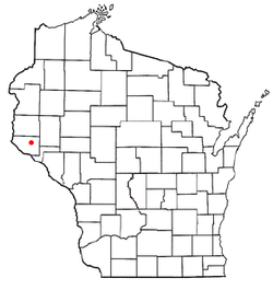 Location of El Paso, Wisconsin