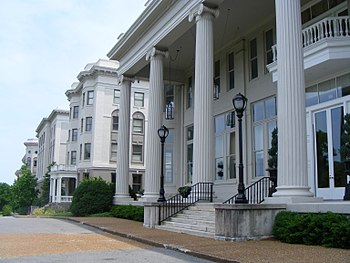 English: Freeman Hall at Belmont University in...