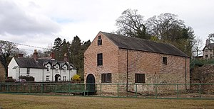 Bersham Ironworks - Bersham Ironworks standing today in the village of Bersham