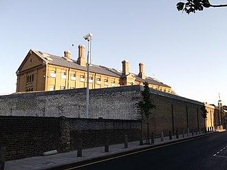 HM Prison Brixton - Image: Wall of H.M. Prison Brixton (geograph 2640556)
