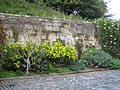 Wall to Warwick castle from Mill Street 2.JPG