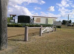 """Wallangarra, Queensland - Border """"gates"""" at Wallangarra"""