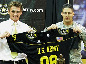 Blair Walsh - Walsh at the 2008 U.S. Army All-American Bowl