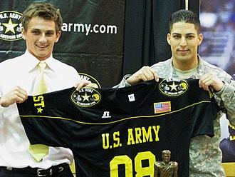 Blair Walsh - Walsh at the 2008 U.S. Army All-American Bowl
