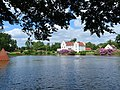 Wanås Castle with a pond in the foreground.jpg
