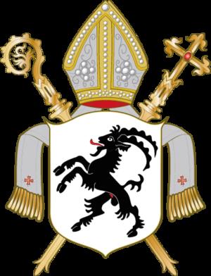 Prince-Bishopric of Chur - Image: Wappen Bistum Chur