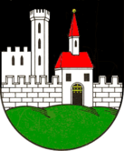Das Wappen von Frohburg