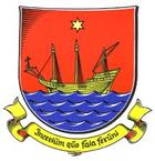 Das Wappen von Wyk auf Föhr