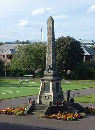 Stewart's Melville College - War Memorial in the College grounds