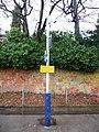 Warning sign, east-bound platform, Farnborough station - geograph.org.uk - 1716986.jpg